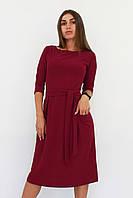 S, M, L, XL / Молодіжне повсякденне плаття Tirend, марсала