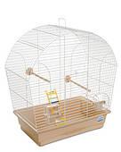 Клетка для мелких декоративных птиц Лина 44*27*54, белая