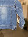 Детская джинсовая курточка для малыша Vertbaudet (Франция) ,для  мальчика 18 мес/80 см, фото 8