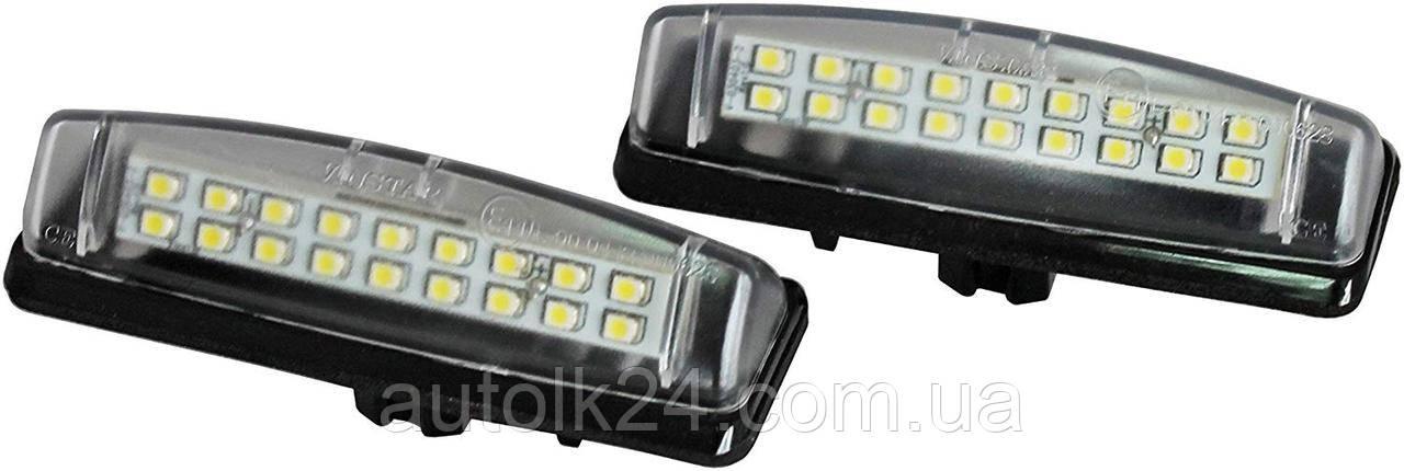 LED Подсветка номера Mitsubishi Colt, Grandis