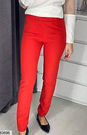 Брюки женский весна-осень костюка 42-48 размеров,цвет красный