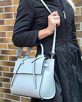 Женская итальянская сумка из натуральной гладкой кожи, Bella Bertucci