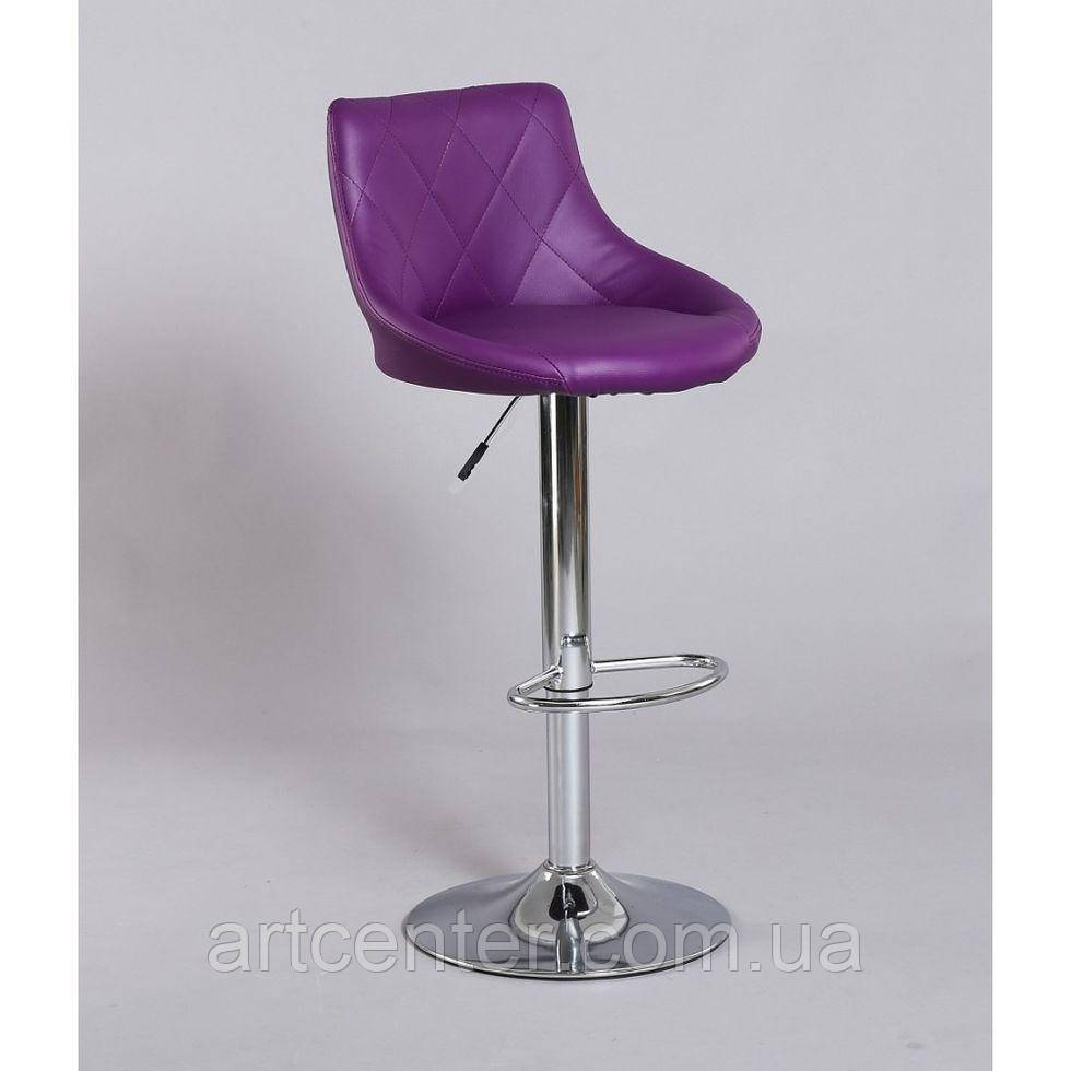 Стул барный хокер HC-1054 фиолетовый