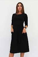 S, M, L, XL | Молодіжне повсякденне плаття Tirend, чорний XL