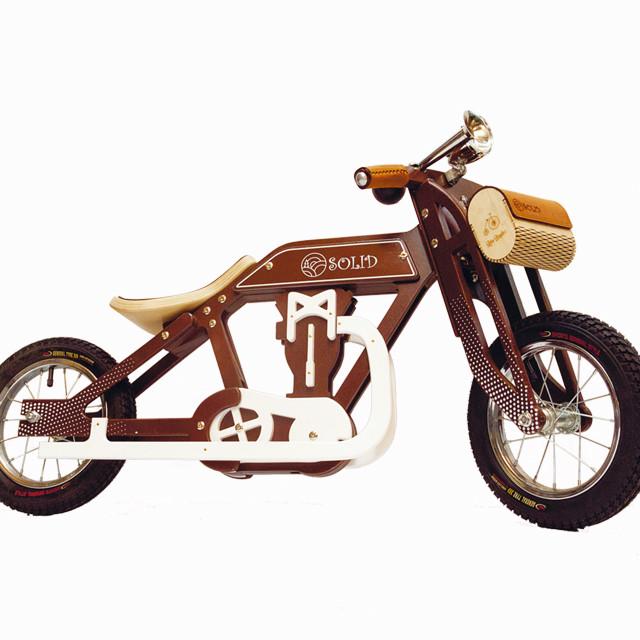 Беговел мотоцикл Bartka Daisy Sign коричневый Vel-21