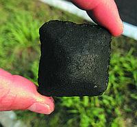 Древесно-угольный брикет