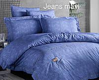 Комплект постельного  белья  First choice Deluxe Ranforce Jeans mavi