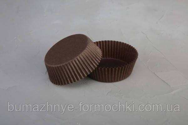 Коричневые формы для тартов и пирогов, 60х22.5 мм