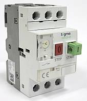 Автомат пуска защиты электродвигателя мотор автомат пускатель типа ПРК 3 фазы  регулировка теплового тока 0,16 - 0,25 А, ток к.з.100 кА