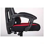 Кресло VR Racer Radical Taylor черный/красный, Бесплатная доставка, фото 9