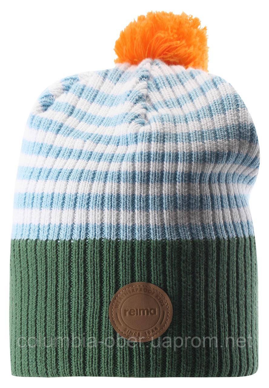 Демисезонная шапка для мальчика Reima 538069-8901. Размер 48 - 58.