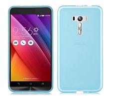 Силиконовый чехол для Asus ZenFone 3 Laser ZC551KL голубой