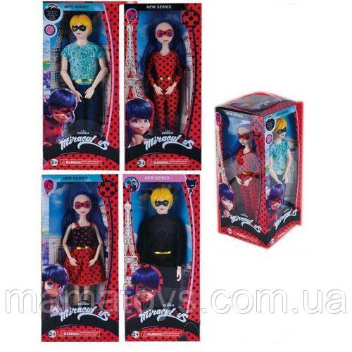 Набор кукол LT 725 Леди Баг Кукла 4 шт  в коробке