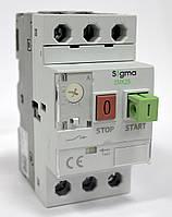 Автомат пуска защиты электродвигателя мотор автомат пускатель типа ПРК 3 фазы  регулировка теплового тока 0,63-1 А, ток к.з.100 кА