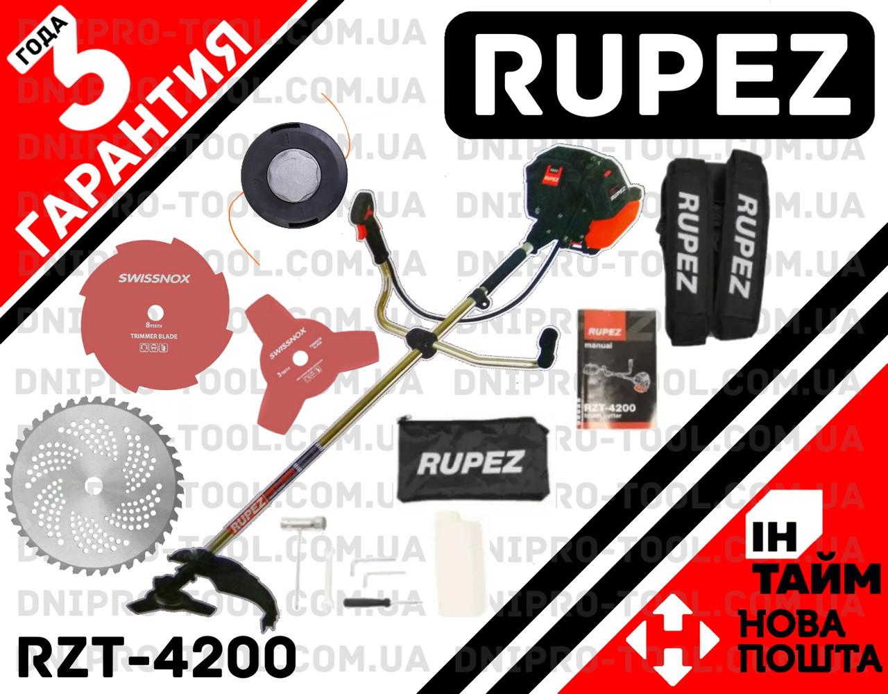 Бензокоса мотокоса бензотример RUPEZ RZT-4200 косилка