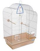 Клетка для мелких декоративных птиц Воля 44*27*63, хром