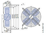 Осевой вентилятор Ziehl-abegg FB063-ADK.4F.V4P, фото 2