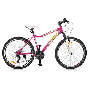 """Велосипед спортивный алюминиевая рама 17,5"""" Profi G26CARE A26.1 размер колес 26 дюймов"""