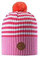 Демисезонная шапка-бини для девочки Reima Tokko 538069-4411. Размеры 48/50 - 56/58.