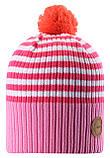 Демисезонная шапка-бини для девочки Reima Tokko 538069-4411. Размеры 48/50 - 56/58., фото 3