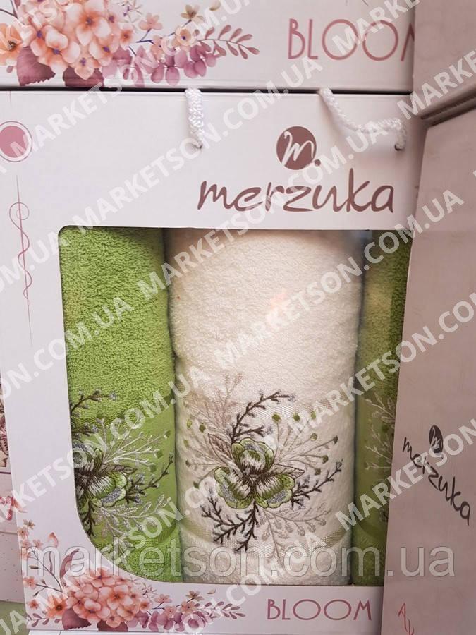 Набор махровых полотенец 50х90-2шт,70х140-1шт. Хлопок! Турция.
