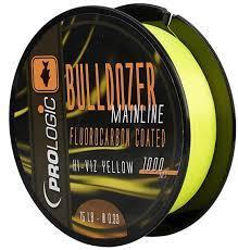 Леска Prologic Bulldozer FC Coated Mono Fluo 1000m 15lbs 0.33mm yellow