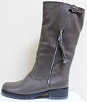 Сапоги женские зимние кожаные большого размера от производителя модель ВБ1111