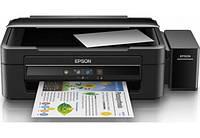 Принтер струйний кольоровий 3в1 (Принтер, Ксерокс, Сканер) Epson L382, фото 1