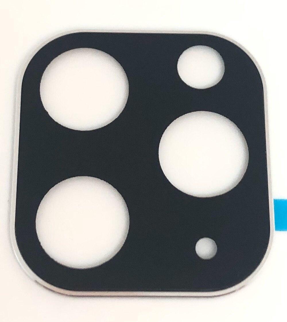 Стекло на камеру iPhone 11 Pro Max silver - защитное