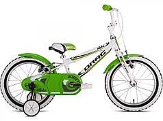 Велосипед Drag 16 Alpha Бело/Зеленый 2017      2966470023735