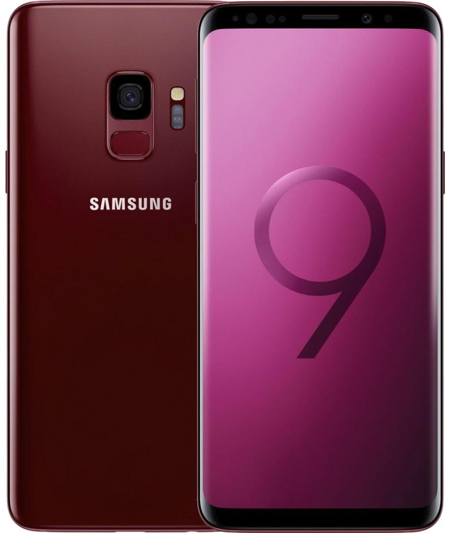 "Смартфон Samsung Galaxy S9 (SM-G960U) 64gb 1sim Red, 12/8Мп, 5,8"", Snapdragon 835, 3500 mAh, 12 міс"