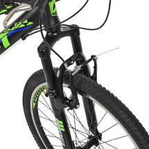 Велосипед спортивный городской Profi 24 Д G24PLAIN A24.3 SHIMANO 21SP черный, фото 2