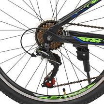 Велосипед спортивный городской Profi 24 Д G24PLAIN A24.3 SHIMANO 21SP черный, фото 3