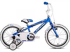 Велосипед Drag 16 Alpha Сине/Белый 2016     2973900019275