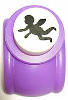 Дырокол фигурный для детск. твор. KM-8203 Ангел (диаметр 2.5см)
