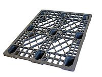 Пластиковый поддон SPK 80120EX (1200х800хН133мм), нагрузка динамическая/статическая 400/1500 кг, вес 5,5 кг