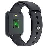 Фитнес-браслет smart часы Apple band T70 black, фото 6