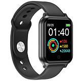 Фітнес-браслет smart Apple band T70 black, фото 7