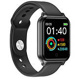 Фитнес-браслет smart часы Apple band T70 black, фото 7