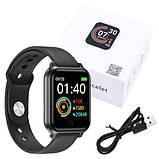 Фитнес-браслет smart часы Apple band T70 black, фото 8