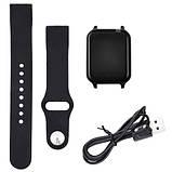 Фитнес-браслет smart часы Apple band T70 black, фото 9