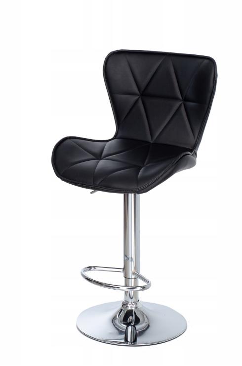 Стеганое барное кресло