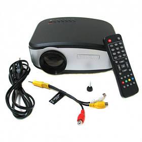 Портативный мини LED проектор Cheerlux 1500 lumen с динамиком + TV тюнер (116)
