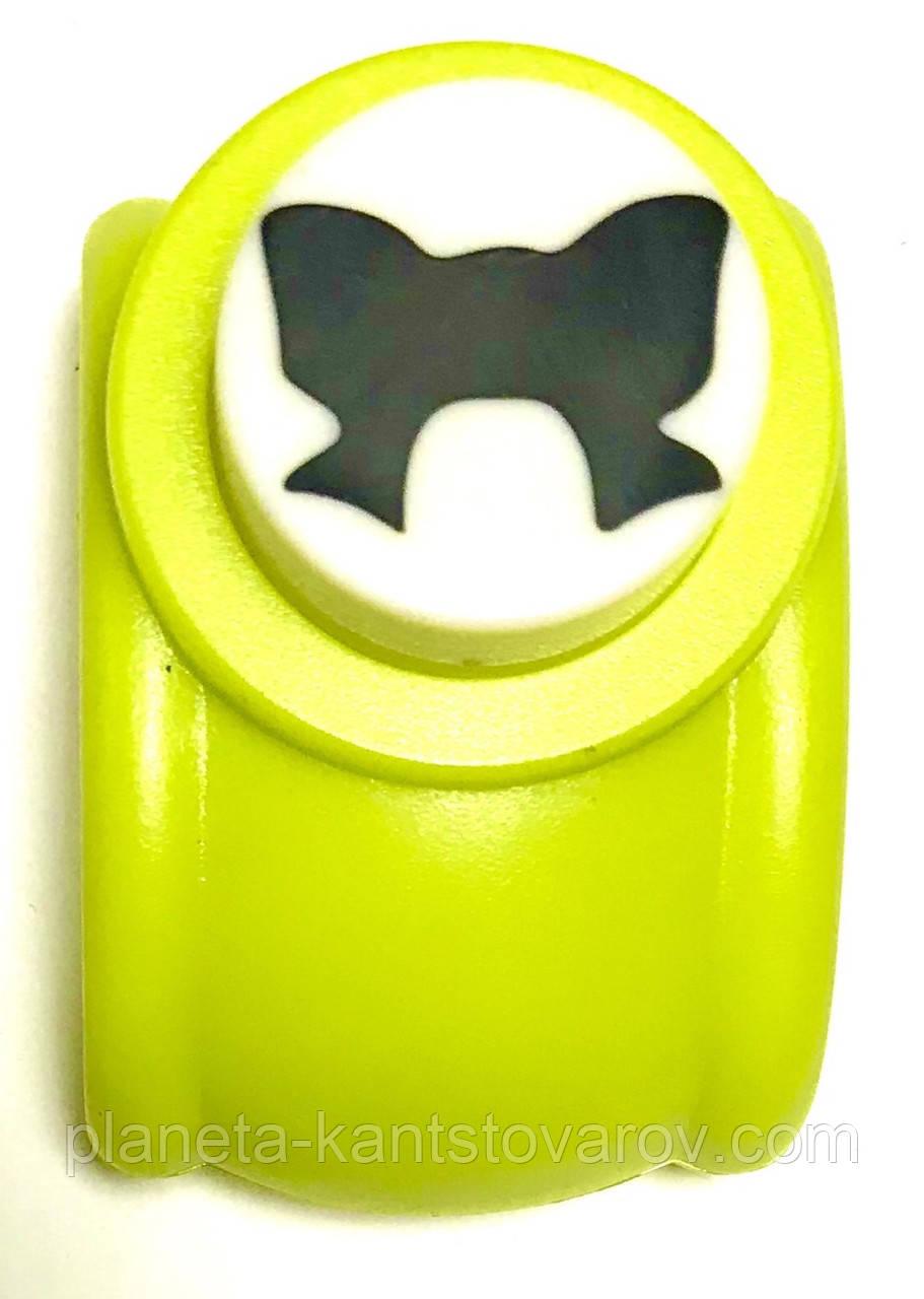Дырокол фигурный для детск. твор. KM-8203 Бант (диаметр 2.5см)