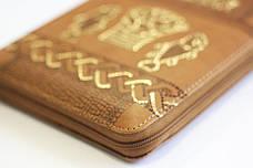 Біблія українською мовою середнього формату (рибки, шкірзам, 15х20), фото 2