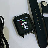 Фітнес-браслет smart Apple band T70 black, фото 4