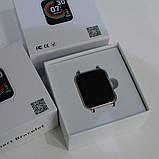 Фитнес-браслет smart часы Apple band T70 black, фото 3