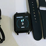 Фітнес-браслет smart Apple band T70 black, фото 2
