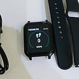 Фитнес-браслет smart часы Apple band T70 black, фото 2