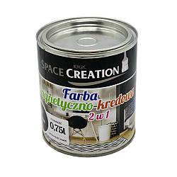 МАГНИТНО-ГРИФЕЛЬНАЯ краска 2-в-1 Space Creation 0,75 л на 1,25 м2